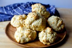 smitten kitchen - drop cornbread biscuits: This past Saturday, we hosted our second Friendsgiving, stuffing 17 people in an… - View Drop Biscuits, Buttermilk Biscuits, Easy Biscuits, Smitten Kitchen, Kitchen Recipes, Baking Recipes, Bread Recipes, Baking Tips, Baking Ideas