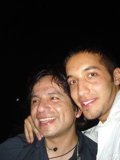 Con Omar Gonzales cantante del mejor grupo de Bolivia OCTAVIA