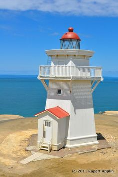 Hokitika #lighthouse - #New #Zealand    http://dennisharper.lnf.com/