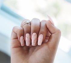 In look for some nail designs and ideas for your nails? Here's our list of 35 must-try coffin acrylic nails for stylish women. Nail Polish Hacks, Nail Tips, Marble Nails, Acrylic Nails, Pink Marble, Cute Nails, Pretty Nails, Hair And Nails, My Nails