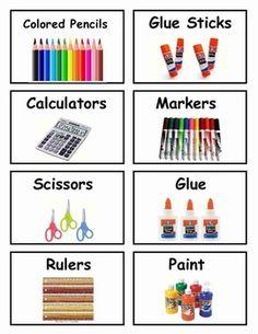 Classroom Organization, Free Bin Labels, or make matching cards Preschool Classroom Labels, Kindergarten Classroom, Art Classroom, Future Classroom, Classroom Setup, Daycare Labels, Classroom Libraries, Classroom Signs, School Labels