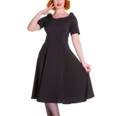 Hell Bunny Black Bianca Dress
