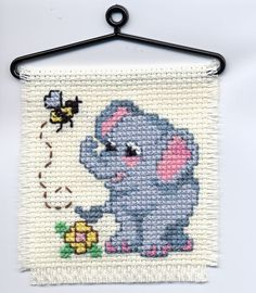 cross stitch work-in-progress | Elephant Cross Stitch. Found here. 49 ? / 3 October, 2012. Tagged ...