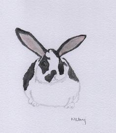 Pongo 2 - Dalmatian Rex watercolour