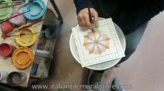 Handpainted Accent Tile #1 Italian Tile Mural Store