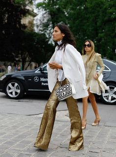 See all of the best street style from outside of New York, London, Milan and Paris Fashion Week Fall 2014 shows. All of the street style trends spotted outside Fall 2014 collections.