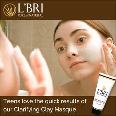 The hormone fluctuations in teens can cause their oil glands to plug more often, resulting in blemishes. Our Clarifying Clay Masque is great for spot treatment . Clay Mask On Cystic Acne Acne Treatment At Home, Cystic Acne Treatment, Homemade Acne Treatment, Cystic Acne Remedies, Natural Acne Remedies, Cystic Acne Essential Oil, Essential Oils, Acne Spots, Hormonal Acne