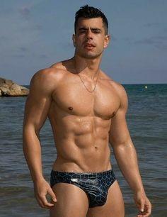 Ignacio Perez Rey For Garçon Model – Part 3 Male Fitness Models, Male Models, Hot Guys, Guys In Speedos, Men Beach, Hommes Sexy, Raining Men, Shirtless Men, Muscle Men