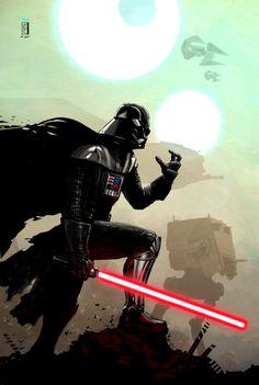 Darth Vader by Yvan Quinet.