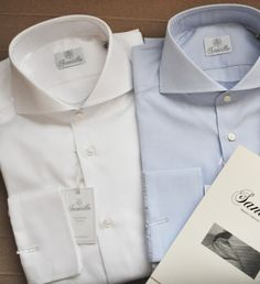 HandMade Shirts by SANTILLO 1970 at WWW.FINAEST.COM