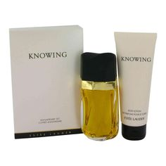 Knowing by Estee Lauder is the other fragrance I wear today--so classic, so wonderful.  If I could find Arpege or Chloe more easily...they'd be here too.