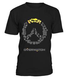 Overwatchh  #videogame #shirt #tzl #gift #gamer #gaming