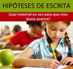 Saiba mais sobre as HIPÓTESES DE ESCRITA e quais atividades usar em cada fase!