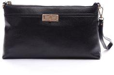 Clutch Purse,YOUNA Vintage Genuine Leather Envelop Clutch Purse For Women With Wrist&Shoulder Strap