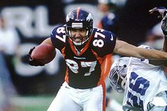 Ed McCaffrey. One of my All-Time FAVORITE players. The guy elway could count on to catch EVERY ball thrown his way.