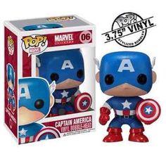 Funko - Capitão America - Avengers - R$ 90,00