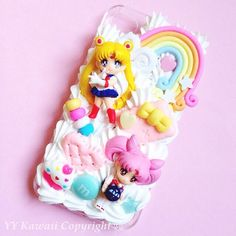 Custom Sailor Moon 3D Phone Case, $18+ at YYKawaii | Etsy Wednesday: The Ultimate Sailor Moon Fan Finds