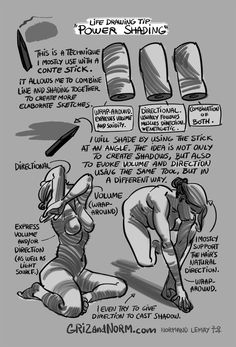Griz and Norm's Tuesday Tips - Character Design Page