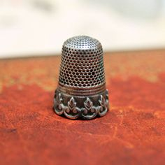 French antique sterling silver sewing thimble by 8ctopusSgarden, $35.00