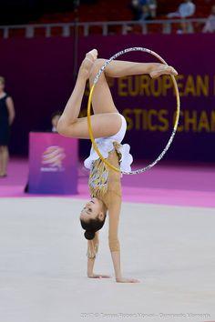<<Alina Harnasko (Belarus) # 33rd European Rhythmic Gymnastics Championships in Budapest - Hungary, 19-21 May 2017>>