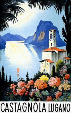 Castagnola Lugano Switzerland Lake Resort