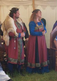 Made by Amanda, with Aelwynn. Baroness & Baron Loch Salaan.