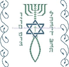 Grafted In Challah Cover Messianic       red threadcraft, $19.00