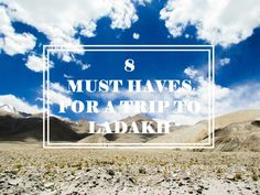 8 Must-Haves for a trip to Ladakh! – A dress A place