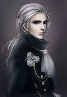 Vampire Art Illustration Shinobu Tanno Scary