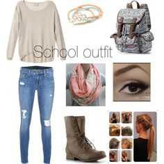 School outfit (maybe NOT the boots though!!)