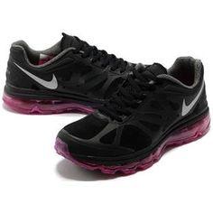 http://www.asneakers4u.com/ Cheap nike air max 2012 womens shoes black purple 36 40