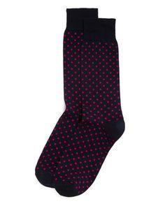 The Men's Store at Bloomingdale's Polka Dot Socks Men - Bloomingdale's Polka Dot Socks, Polka Dots, Cobalt Blue Suit, Socks Online, Socks Men, Men Store, The Man, Suits, Shopping