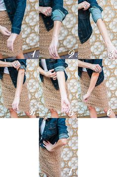 How to Cuff Sleeves, Denim Jacket