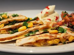 Sweet Corn Quesadillas