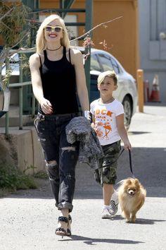 Gwen Stefani  Gavin Rossdale Enjoy Fathers Day Weekend in @MINIANDMAXIMUS