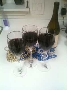 Patiently waiting to toast my friends! (January 2011)