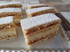 Ünnepi alkalmakra is elkészíthető, mert ezt a sütit mindenki szereti! Winter Food, Cakes And More, Vanilla Cake, Hungary