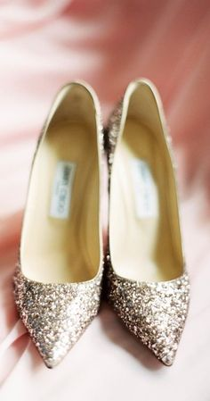Jimmy Choo heels via jena1125. #heels #fairytalewedding