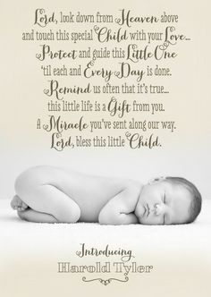 baby birth announcements quotes