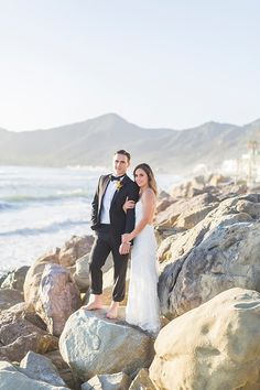A Santa Barbara Seaside Elopement Styled Shoot   Southern California Bride