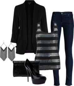"""Night Out"" by honeybee20 on Polyvore"