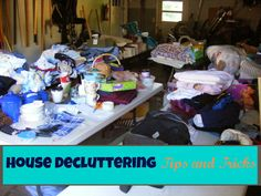 House Decluttering Tips and Tricks