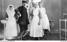 Beziers, France. c. 1916. A group portrait taken in an operating theatre. Seen…