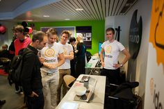 Here we are presenting our product to the audience during the demoday of Startup Journey 2015