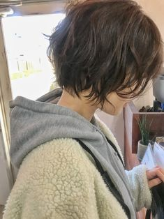 Pin on ショートヘア Tomboy Hairstyles, Pretty Hairstyles, Hairstyles Haircuts, Girl Short Hair, Short Hair Cuts, Short Hair Tomboy, Short Hair Fashion, Pretty Short Hair, Short Punk Hair