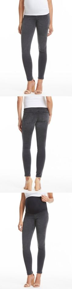 Jeans 11535: James Jeans Twiggy Maternity Grey Skinny Jean With Belly Panel - Slate Ii - Nwt -> BUY IT NOW ONLY: $88 on eBay!