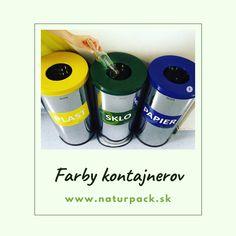 Viete aké je farebné rozlíšenie jednotlivých kontajnerov na triedený zber odpadu? Paper