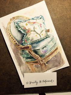 Watercolor  Kristy Edwards