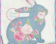 rabbit embroidery design applique – Vyhľadávanie Google Computerized Embroidery Machine, Machine Embroidery Applique, Applique Patterns, Applique Designs, Applique Pillows, Applique Monogram, Felt Bunny, Easter Bunny, Bunny Rabbit