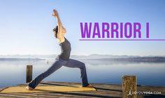 How to Do Warrior I Pose